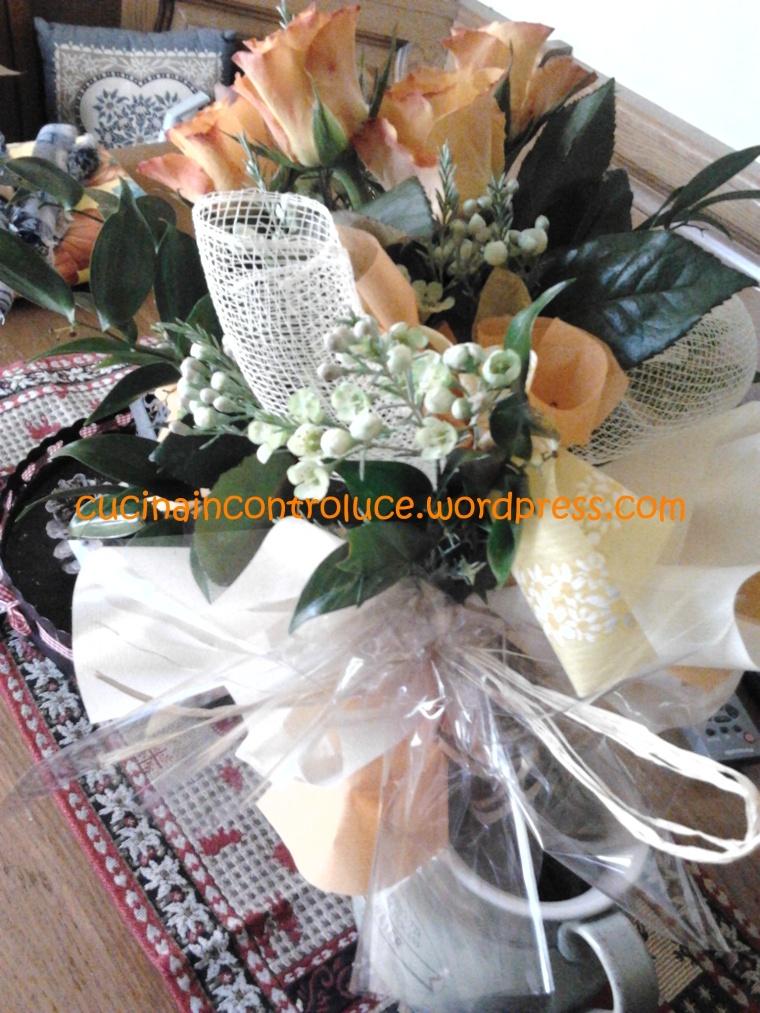 I fiori regalati dal maritino