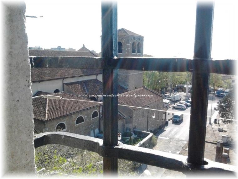 La Cattedrale vista dalle finestre del Castello