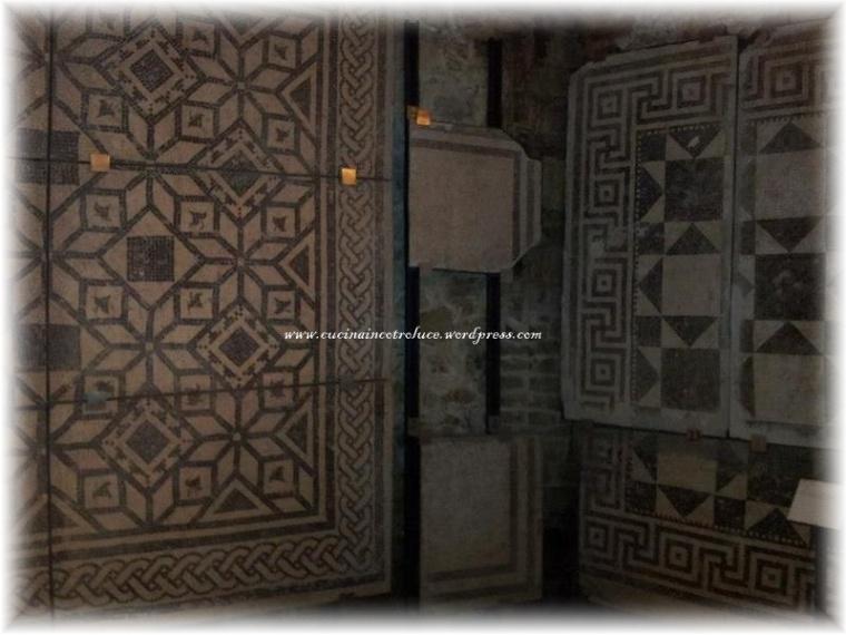 Splendidi mosaici ritrovati nella zona di Barcola, zona di ville romane signorili